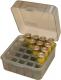 Noname - Аксессуары, Бокс пластиковый универсальный для 12,16,20 к на 25 патронов Cabelas цвет дымчатый