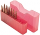 MTM - Аксессуары, Бокс MTM J-20-XS на 20 патронов кал. 222 Rem и 223 Rem. Цвет – красный.