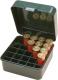 Noname - Аксессуары, Бокс пластиковый универсальный для 12,16,20 к на 25 патронов Cabelas цвет зеленый