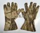 Перчатки маскировочные из сетки сухой камыш XL