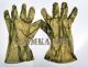 Перчатки маскировочные из сетки камыш M