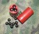 """12к. - Снаряжение  патронов, Заряд """"Картечь согласованная 7,2мм (3 x 4шт.) 12 к. низкий (10 шт)"""