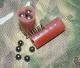 """12к. - Снаряжение  патронов, Заряд """"Картечь согласованная 7,2мм (3 x 5шт.) 12 к. высокий (10 шт)"""